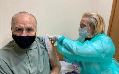 Pierwszy dzień szczepień Seniorów 80+ za nami